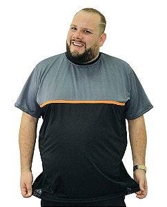 Camiseta Plus Size Masculina BigMen DRY Sport Queima de estoque sem troca
