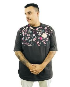 Camiseta Plus Size Masculina Marrom Florida