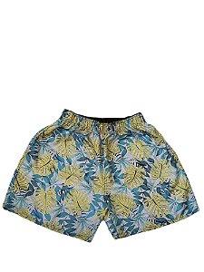 Short Praia Masculino Plus Size mescla Bigmen