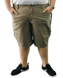 Bermuda Masculina Plus Size Colors Creme
