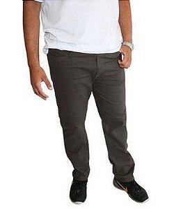Calça Masculina Plus Size Colors Cinza  N01