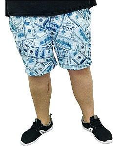 Short Praia Dólar Plus Size Masculina QUEIMA DE ESTOQUE SEM TROCA