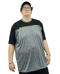 Camiseta Plus Size Masculina Dry Sport   B02