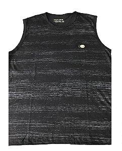 Camiseta Regata Plus Size Masculina MachãoPreta  D09