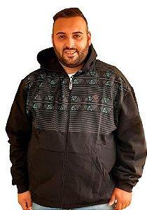 Blusa Masculina Plus Size Moletom Bigmen