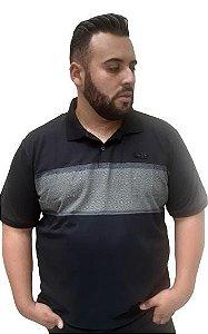 Camisa Polo Masculina Plus Size