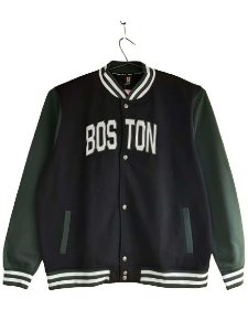 Blusa Plus Size Masculina Moletom Bigmen Boston Preta