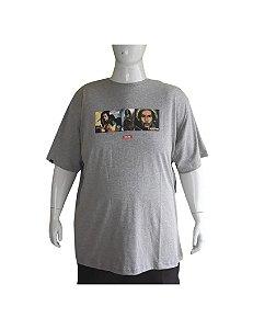 Camiseta Chronic Masculina Plus Size Bob Marley