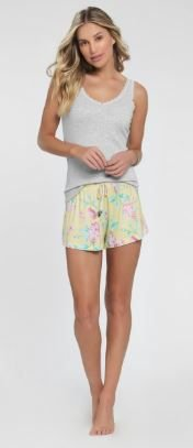 Short Doll com Regata Cor Com Amor