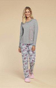Pijama Meia Malha Invernos Mensageiro dos Sonhos