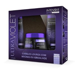 Kit Ultra Violet Shampoo350ml + condicionador350ml + mascara300g