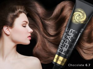 Triskle cosméticos coloração chocolate 6.7