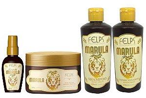 Kit Marula Felps profissional Hidratação Profunda