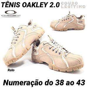 Tênis Oakley 2.0 Couro Legítimo Masculino