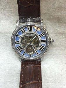 Relógio Feminino Cartier Esqueleto