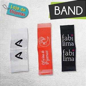 Etiqueta bordada Bandeirinha (Lateral) - Alta Definição