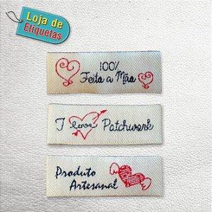 Etiquetas para Artesanato (Kit 3 modelos) - 300 peças