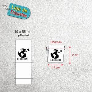 R. DUGONI - Etiqueta bordada Clip (19x55nn)