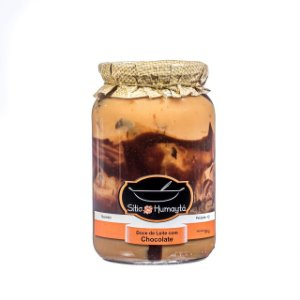 Doce de Leite com chocolate 700g - Sítio Humaytá