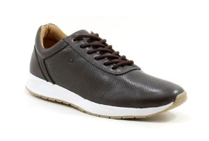 Tênis Jogging Masculino Pixel Orlandelli  Chocolate ORJ001L6