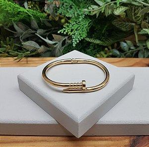 Bracelete Prego Dourado
