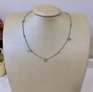 Chocker Luz Acqua Prata