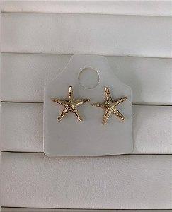 Brinco Estrela do Mar Dourado