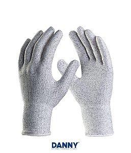 Luva de segurança tricotada em polietileno de alta densidade Anti-Corte FLEXCUT DA45100