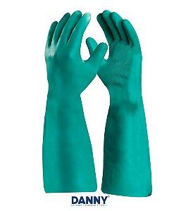 Luva longa para Proteção Química NITRIFLEX VERDE DA36104