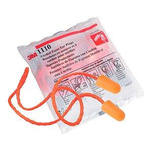 Protetor Auricular 3M Tipo Espuma c/cordão 1110
