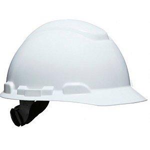 Capacete Branco 3M H700 Com Suspensão e Catraca