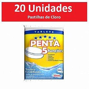 Pastilhas De Cloro Penta Hidroall (20 Unidades)