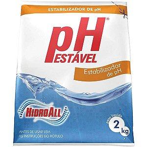 Elevador de Alcalinidade Ph Estável 2kg Hidroall