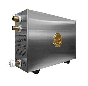 Sauna a Vapor Elétrica 12KW c/ Quadro Digital Impercap