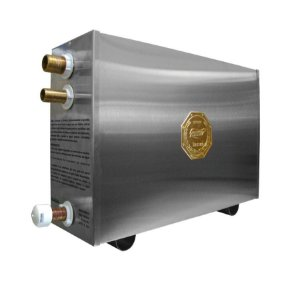 Sauna a Vapor Elétrica 16KW c/ Quadro Digital Impercap