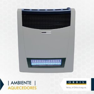 Aquecedor de Ambiente a Gás GN 3.800 Orbis