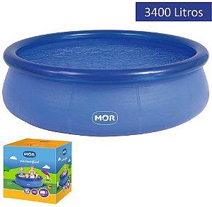 Piscina Inflável Splash Fun 3.400 litros MOR