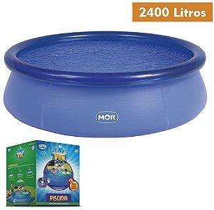 Piscina Inflável Splash Fun 2.400 litros MOR