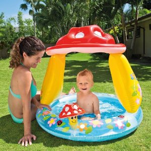 Piscina Inflável Cogumelo Divertido Intex