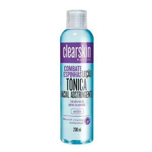 Loção Tonica Facial Adstringente- Avon Clearskin