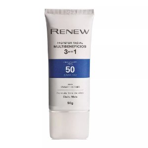 Avon Renew Multibenefícios Protetor Facial 3 Em 1 Fps 50