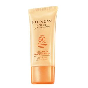 Renew Solar Advance Ultra Matte Protetor Solar Anti-Idade Fps 50 50g