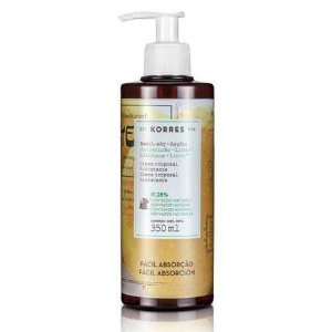Korres Body Milk Manjericão E Limão With Pump 350ml