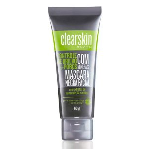 Clearskin Máscara Negra Facial com Minerais 60g