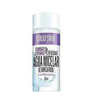 Água Micelar De Limpeza Facial  Avon Clearskin - 150 Ml-