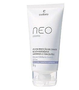 Máscara Neo Essens Esfoliante Facial 3 Em 1