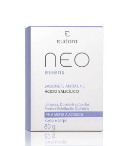 Neo Essens Sabonete Em Barra Pele Com Cravos E Espinhas 80G
