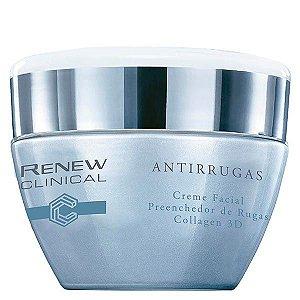 Renew Creme Facial Preenchedor De Rugas Collagen 3D 30g