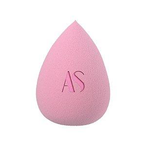 Esponja Maquiagem  Soft Pink Formato Gota Cor Rosa Claro-Alice Salazar
