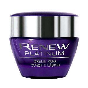 Renew Platinum Creme para Olhos e Lábios 15 g